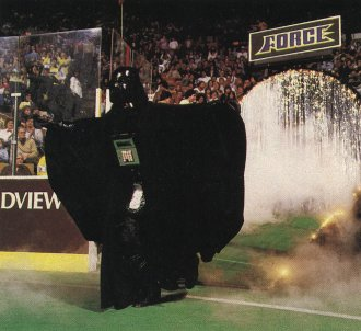 Darth Vader during a Force game